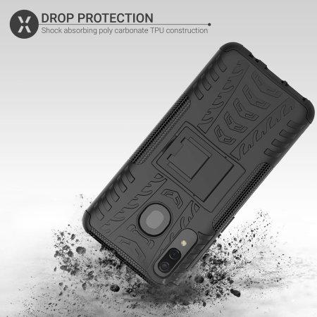Olixar ArmourDillo Samsung Galaxy A30  Protective Case - Black