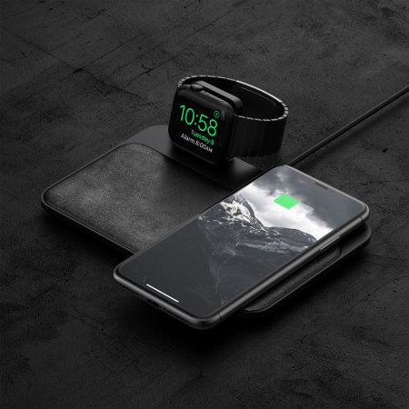 Nomad Wireless Qi Charging Base Station - Apple Watch Edition - Black