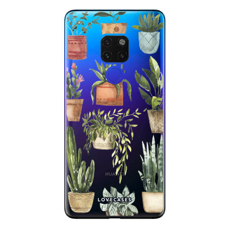 LoveCases Huawei Mate 20 Gel Case - Plants