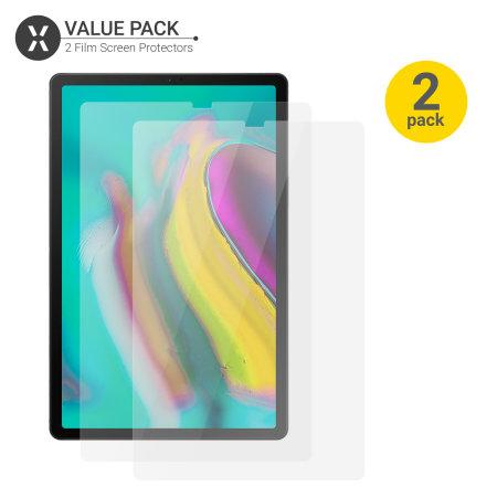 Olixar  Samsung Galaxy Tab S5e Film Screen Protector 2-in-1 Pack