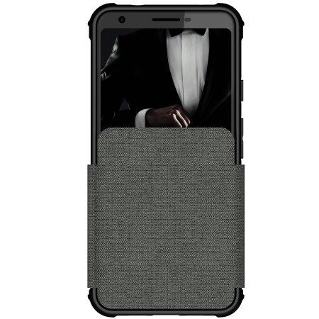 Ghostek Exec Google Pixel 3a XL Wallet Case - Grey