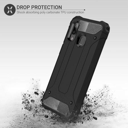 Funda Samsung Galaxy A40 Olixar Delta Armour - Negra