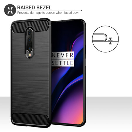 Olixar Sentinel OnePlus 7 Pro Case And Glass Screen Protector