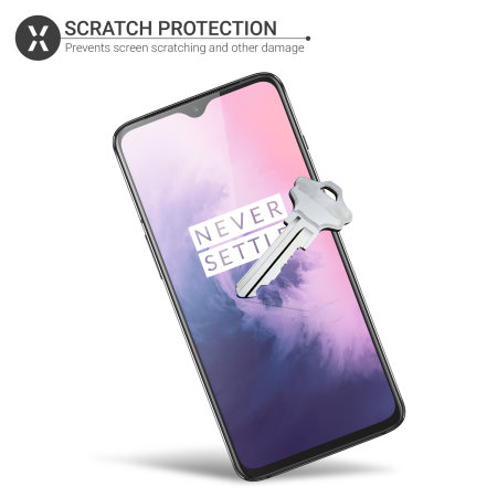 Olixar OnePlus 7 Screen Protector 2-in-1 Pack
