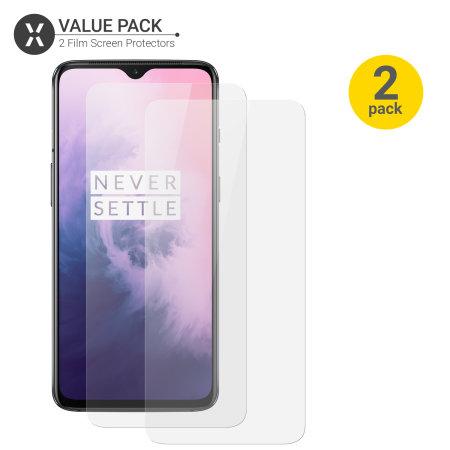 Olixar OnePlus 7 Screen Protector 2-in-1 Pack