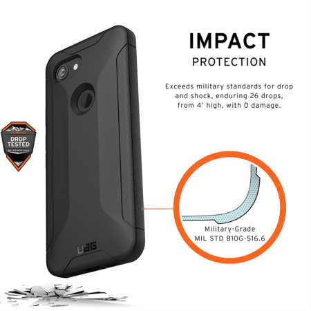 UAG Scout Google Pixel 3a Protective Case - Black