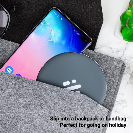 Thumbs Up Base Fast Wireless Charging Pad 10W - Grey