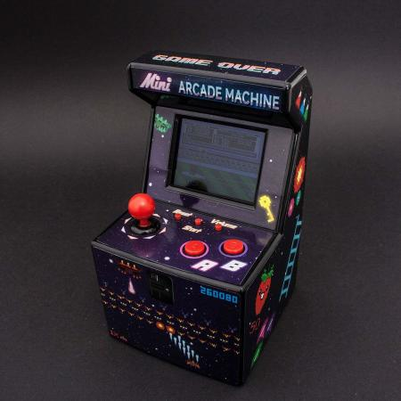 ThumbsUp 240-in-1 Multi Game Mini Arcade Machine - Galaxy Black