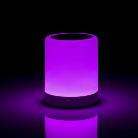 Forever Bluetooth Speaker with RGB Colour Changing Lamp