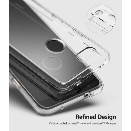 Ringke Fusion Google Pixel 3a Case - Clear