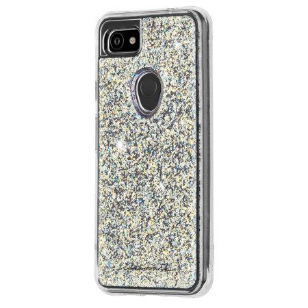 Case Mate Google Pixel 3a Twinkle Glitter Case  - Stardust