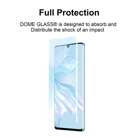 Whitestone Dome Glass Huawei P30 Pro Full Cover Screen Protector