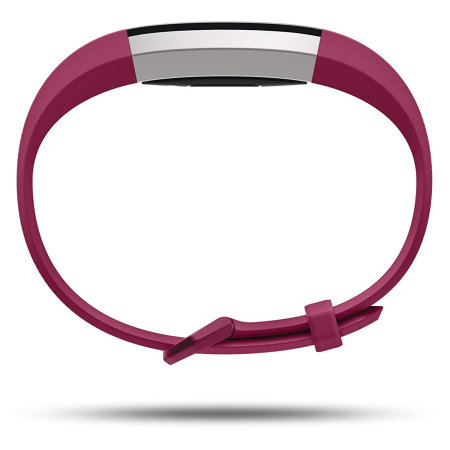 Fitbit Alta HR in Fuchsia Fitness Tracker - Large