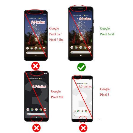 i-Blason UB Pro Case For Google Pixel 3A XL Black