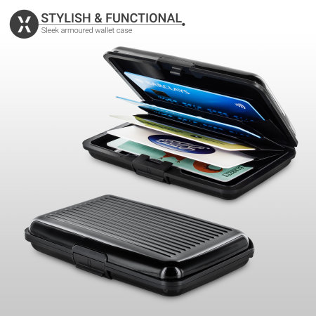 Olixar RFID Armour Wallet Case - Black