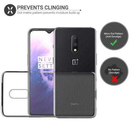 Olixar FlexiShield OnePlus 7 Gel Case - Clear