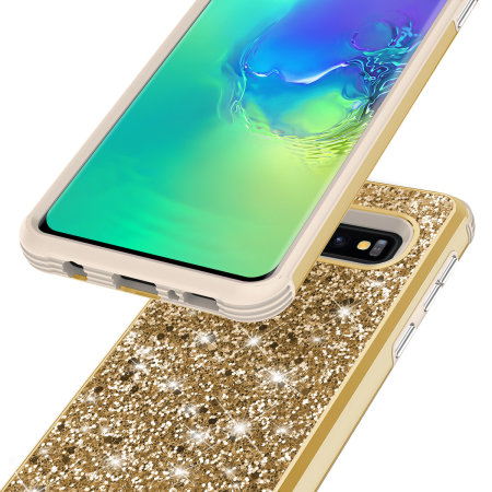 Zizo Stellar Series Samsung Galaxy S10 Case - Gold