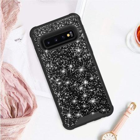 Zizo Stellar Series Samsung Galaxy S10 Case - Black