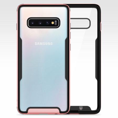 Zizo Fuse Series Samsung Galaxy S10 Case - Rose Gold