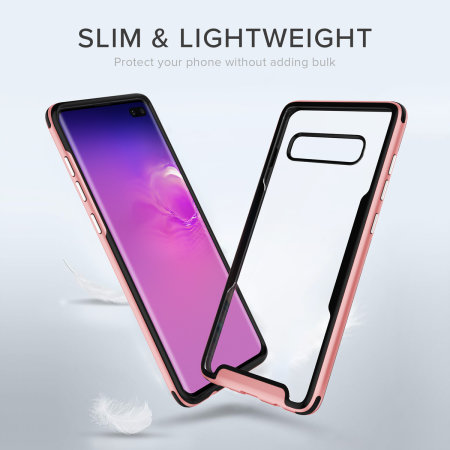Zizo Fuse Series Samsung Galaxy S10 Plus Case - Rose Gold