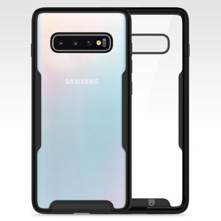 Zizo Fuse Series  Samsung Galaxy S10 Plus Case - Black