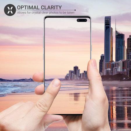 Olixar Samsung S10 5G Camera Protectors - Twin Pack