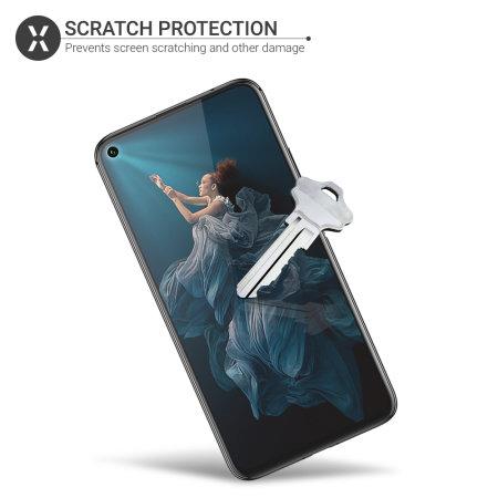 Olixar Huawei Honor 20 Pro Film Screen Protector 2-in-1 Pack