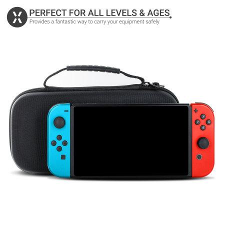 Funda Nintendo Switch Olixar - Negra