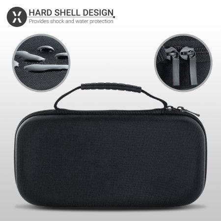 Olixar Hard Shell Nintendo Switch Travel Case - Black