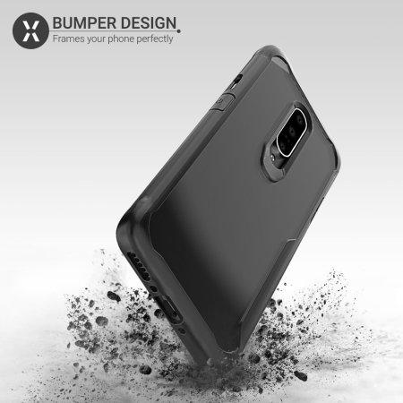 Olixar NovaShield OnePlus 7 Pro 5G Bumper Case - Black