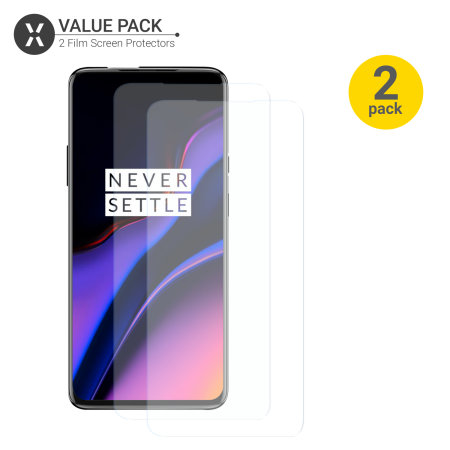 Olixar OnePlus 7 Pro 5G Screen Protector 2-in-1 Pack