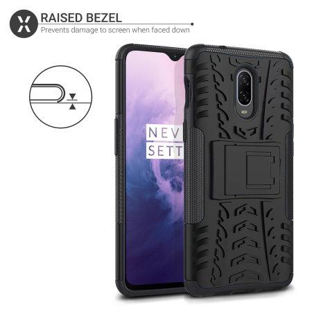 Olixar ArmourDillo OnePlus 7 Protective Case - Black
