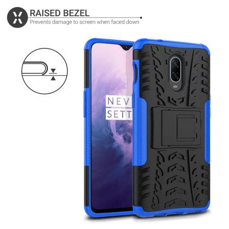 Olixar ArmourDillo OnePlus 7 Protective Case - Blue