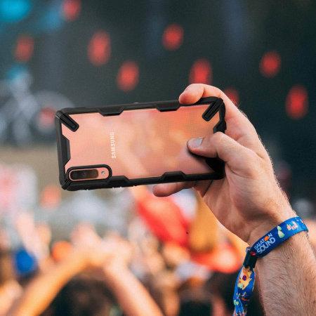 Ringke Fusion X Samsung Galaxy A70 Tough Case - Black