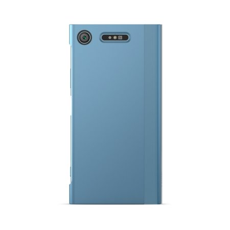 Official Sony Xperia XZ1 Style Cover Touch Case -Blue