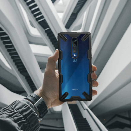Ringke Fusion X OnePlus 7 Pro 5G Case - Blue