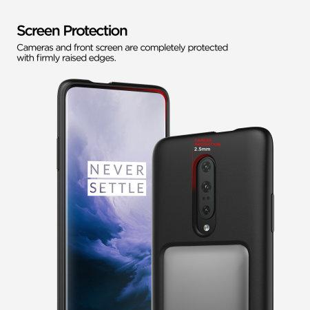 VRS Design Damda High Pro Shield OnePlus 7 Pro 5G Case - Steel Silver