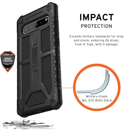 UAG Monarch Samsung Galaxy S10 5G Case - Black