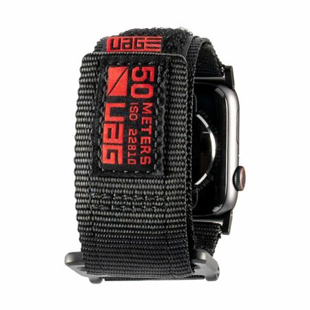 UAG Apple Watch 44mm / 42mm Active Strap - Black