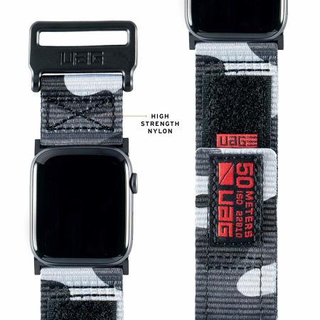 "UAG Apple Watch 44"" / 42"" Active Strap - Midnight Camo"