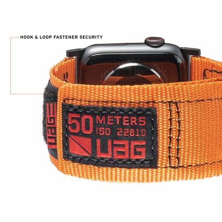 "UAG Apple Watch 44"" / 42"" Active Strap - Orange"