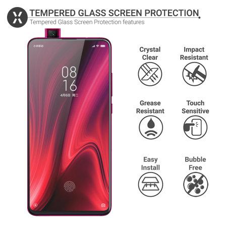 Olixar Xiaomi Redmi K20 Pro Tempered Glass Screen Protector