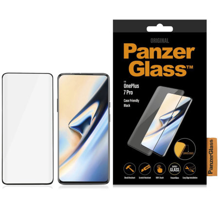 PanzerGlass Case Friendly OnePlus 7 Pro 5G Screen Protector - Black
