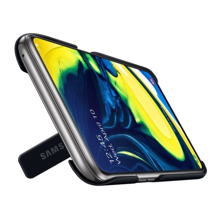 Official Samsung Galaxy A80 Stand Cover Case - Black