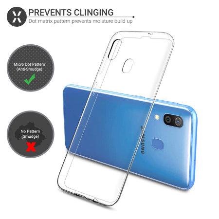 Olixar Ultra-Thin Samsung Galaxy A20 Case - 100% Clear