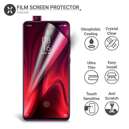 Olixar Xiaomi Redmi K20 Pro  Film Screen Protector 2-in-1 Pack