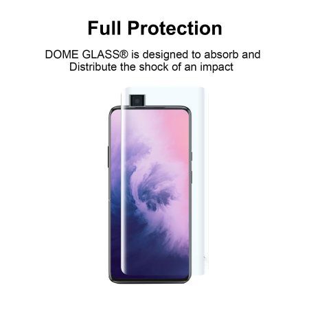 Whitestone Dome OnePlus 7 Pro Glass Screen Protector