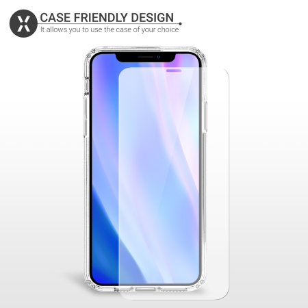 Olixar iPhone 11 Pro Case Compatible Tempered Glass Screen Protector