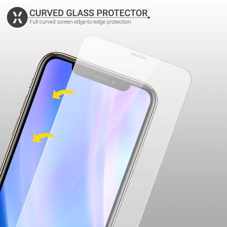 Protector de Pantalla iPhone 11 Olixar Cristal Templado