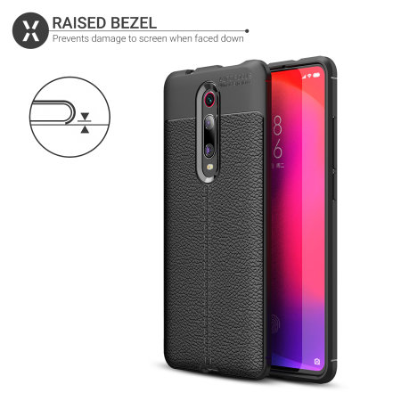 Olixar Attache Xiaomi Redmi K20 Pro Leather-Style Case - Black